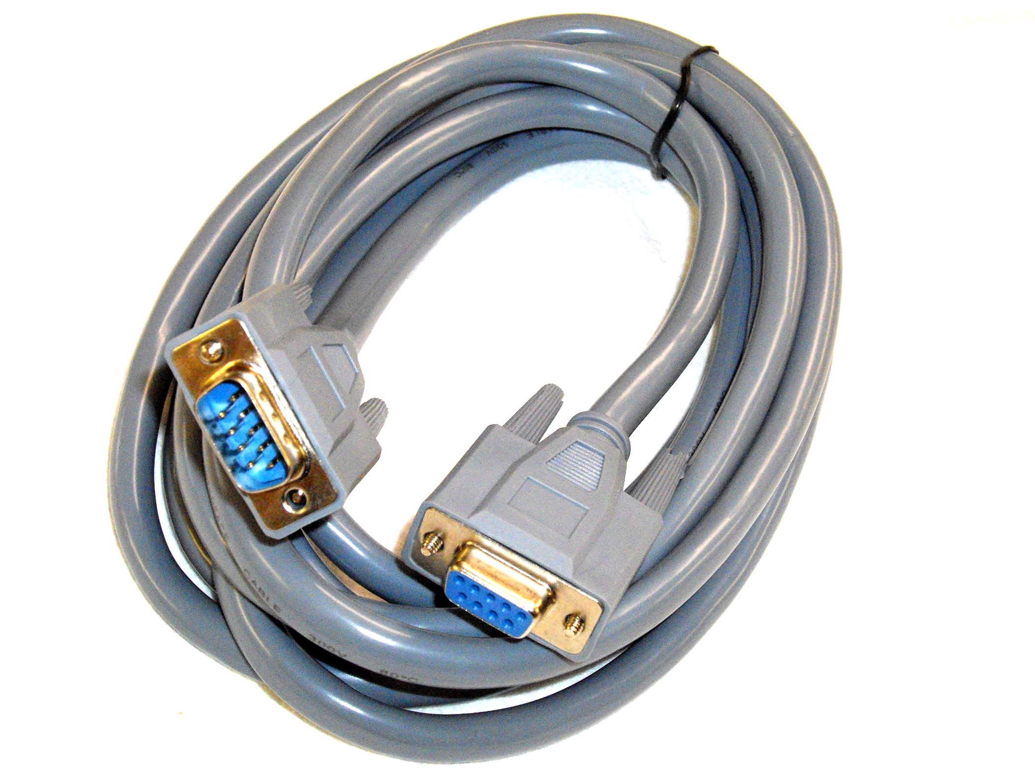 6pol/9pin D-Sub Kabel 0,25mm², 3m, ST-BU, MechaPlus CNC-Modellbau ...