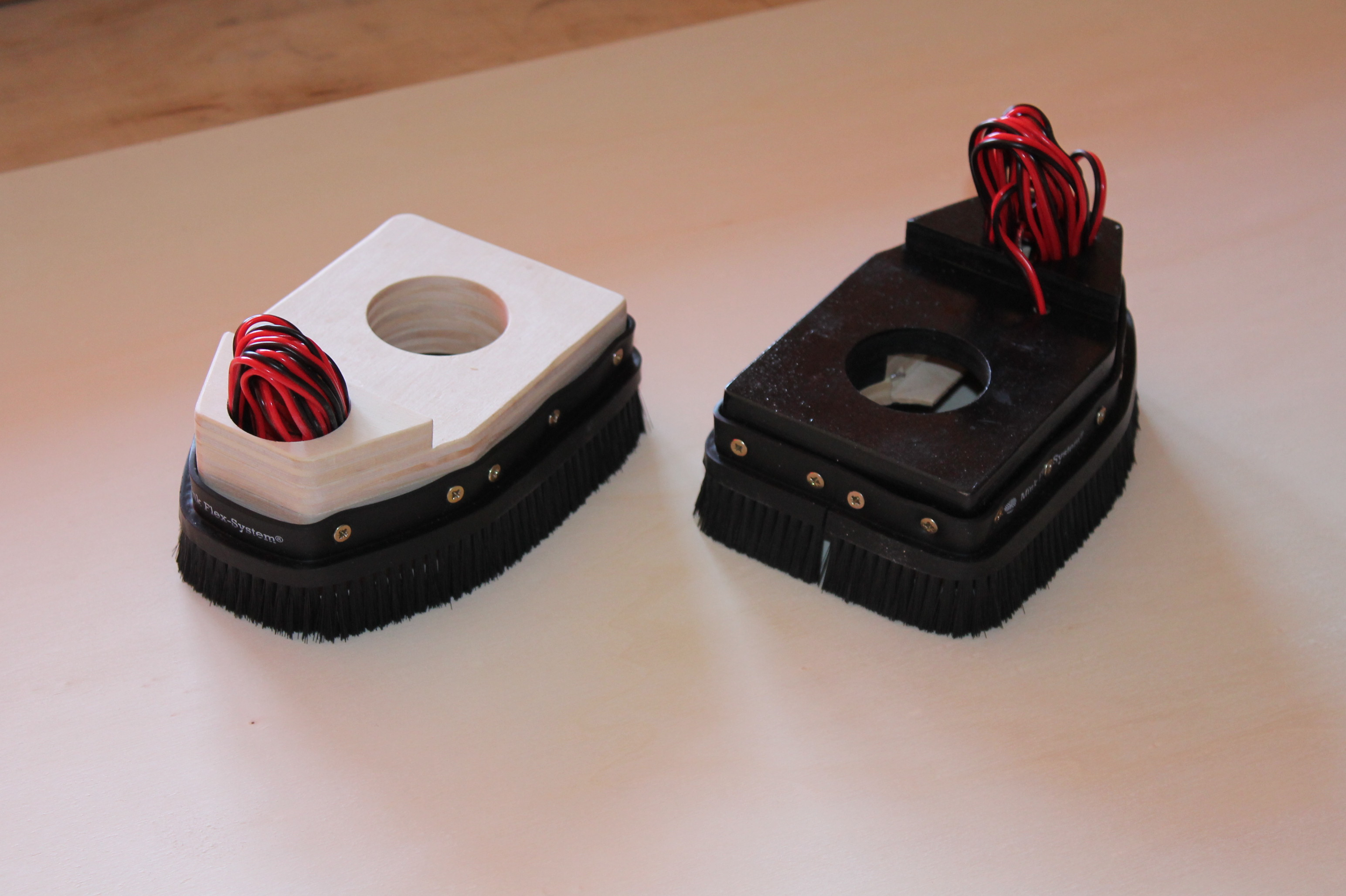 Led Beleuchtung Modellbau Anleitung | Cnc Frase Absaugung Iii Mit Bursten Und Led Beleuchtung 43mm